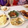ข้าวผัดเวียดนาม ยำถั่วพลู เห็ดออรินจิผัดไข่ ปลาส้ม