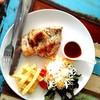 สเต็กไก่ซอสพริกไทยดำกินกะเฟร้นฟราย