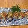 Unagi Ura Maki โรลปลาไหลย่างสอดไส้ไข่หวานกับปูอัดค่ะ