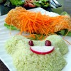 Green Rice With Fried Dorry Fish