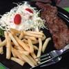 สเต็กเนื้อพริกไทยดำ