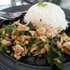 ข้าวกะเพราไก่ (40 บาท)