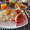 อาหารเช้าเสริฟให้เป็น set