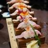 บันไดที่ร๊ากกกก  Hamachi Sushi, Momiji Sushi, Sakuradai Sushi (เรียงบนลงล่าง)