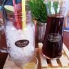 Lemon ice tea เสิร์ฟน้ำมะนาวแยกมาให้ด้วย
