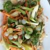 ยำไข่ปลาเรียวเซียว