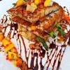 สเต็กปลากระพงซัลซ่าแมงโก
