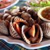 หอยแครงลวก !!
