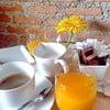 น้ำส้ม-กาแฟร้อน