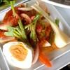 ยำไข่เค็ม+กุนเชียง