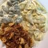 Ravioli, Green Gnocchi, Tortellini Meat sauce (390 บาท) เมนูต้นตำหรับดั้งเดิมขอ