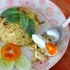 ข้าวผัดพริกแกงเขียวหวานไข่เค็ม (50 บาท)