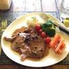 สเต็กหมู(คุโลบุตะ)พริกไทยดำ