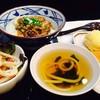 Gyudon+mini+soup+half Boiled Egg Tempura+potato Croquette