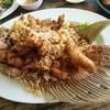 ปลาแรดทอดกระเทียม เนื้อปลากรอบอร่อย