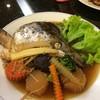 หัวปลาแซลมอนนึ่งซีอิ๊ว