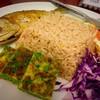 ข้าวพริกกะปิปลาทูทอด