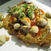 หอยทอดทวิน นางรม+แมลงภู่ 100 บาท