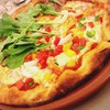 Pizza: Parma Ham with Rocket/ Seafood