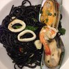 spaghetti Tis a' lemon seafood