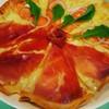 Pizza Duo (Parma Ham+smoked Salmon)