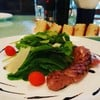 Rocket Salad With Italian Sausage