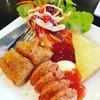 สเต็คไก่พริกไทยดำ