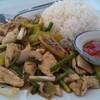 ไก่ผัดพริกไทยดำ