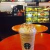 Christmas Panettone Latte Frappuccino @ Starbucks Montien