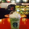 Green Tea Cream Frappuccino @ Starbucks Montien