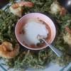 ยำผักกูดทอดกรอบ น้ำยำอร่อยเด็ด