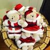 ตุ๊กตาหมีคริสต์มาสยังมีค่ะ Starbucks Time Square