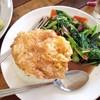 ข้าวคะน้าปลาเค็ม-ไข่ดาว