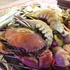 ซีฟู๊ดบนเตา: ปู + กั้ง + หอยหลอด + หอยเชลล์ + อื่นๆ