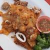 หอยนางรม+ปลาหมึก+ไข่ปลาหมึก (70 บาท)