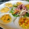 หอยเชลล์อบซอสไข่เค็ม