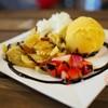 French roti+ mango ice cream (119B)