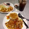 ข้าวไก่เทริยากิ + เกี๋ยวซ่า