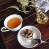 บราวนี่ชีทเค้ก+ชาพีชร้อนน (เด็กมากต้องลอง)