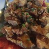ปลาคังผัดซอสมะขาม