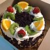 เค้กแบล็คฟอเรสหน้าผลไม้สด