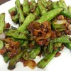 stir-fried string bean (58 hkd)