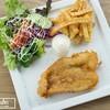 ปลาแพนกาเซียสดอร์รี่อย่างดี ชุบแป้งทอดในสไตล์สหภาพสเต็ก