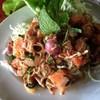 ก้อยปลาแซลมอน