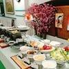 อาหารญี่ปุ่น สลัดบาร์  ผักผลไม้สดมากๆ