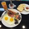 โปรโมชั่นอาหารเช้า < อเมริกันเบรคฟาส>  6.00 - 9.00 p.m. ราคา 62 บาท