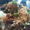 มีปลาฟูด้วย กรอบอร่อยมาก