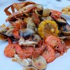 เมนูหลัก ยกมาทั้งทะเล ทั้งกุ้ง ปู หมึก หอยตลับ และหอยแมลงภู่นิวซีแลนด์
