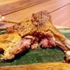 เสียดายด้านในเนื้อแกะมีดิบอยู่ แต่ส่วนที่กินได้อร่อยมากจนยอมให้อภัยเลยล่ะค่ะ
