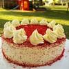red velvet cake cream cheese butter